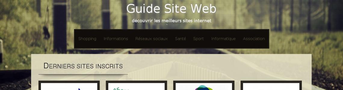 le guide des meilleurs sites web sur internet