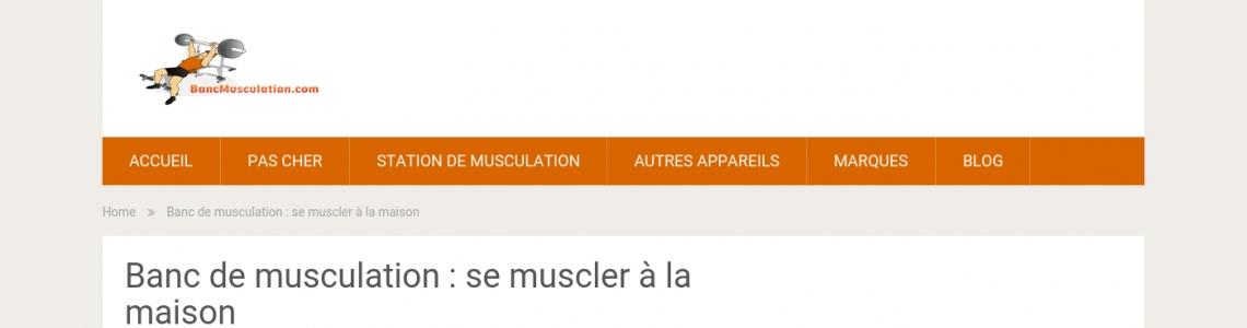 Acheter votre banc de musculation - Banc de musculation guide ...
