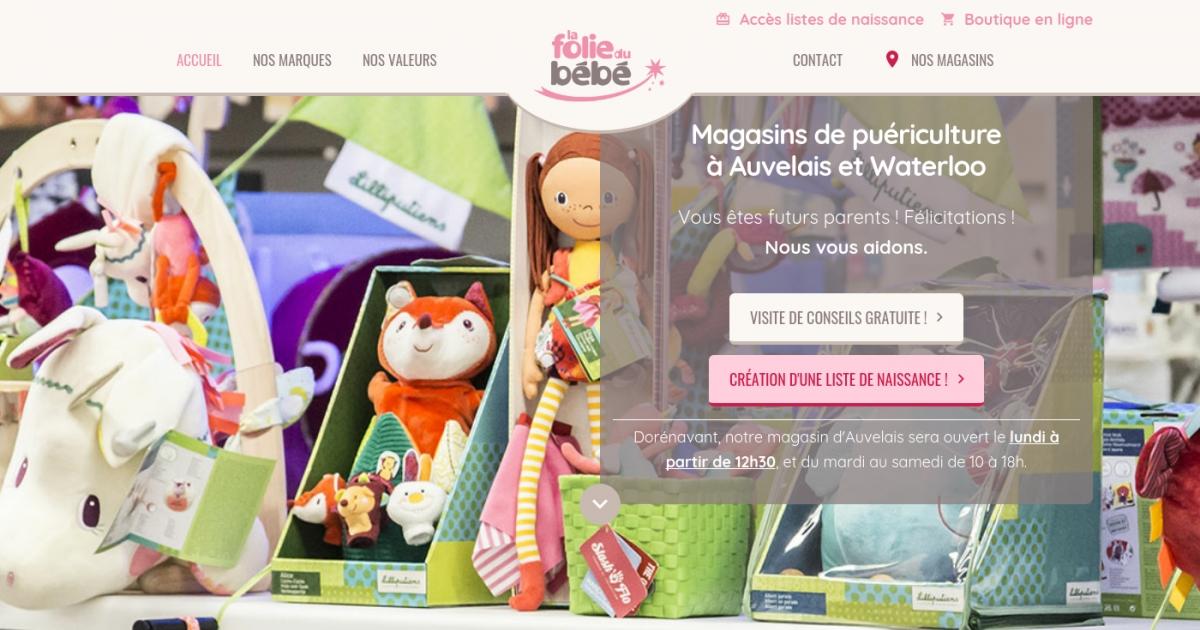 974c89df7da611 Lafoliedubebe.be, adresse et avis sur Le Bottin