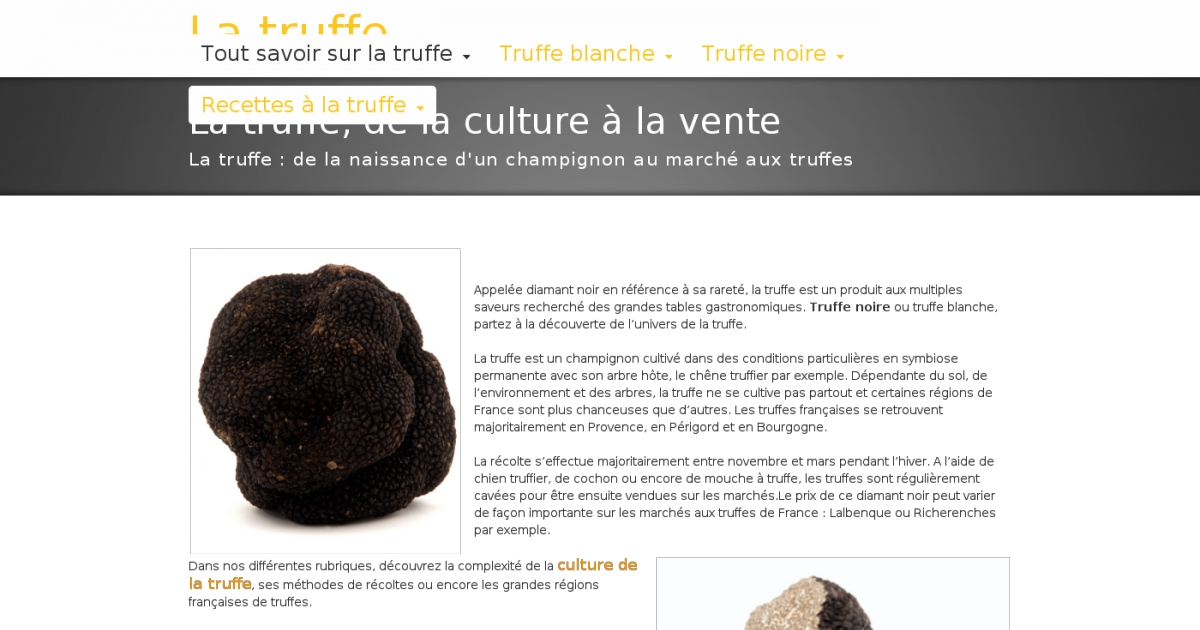 truffe adresse et avis sur le bottin. Black Bedroom Furniture Sets. Home Design Ideas