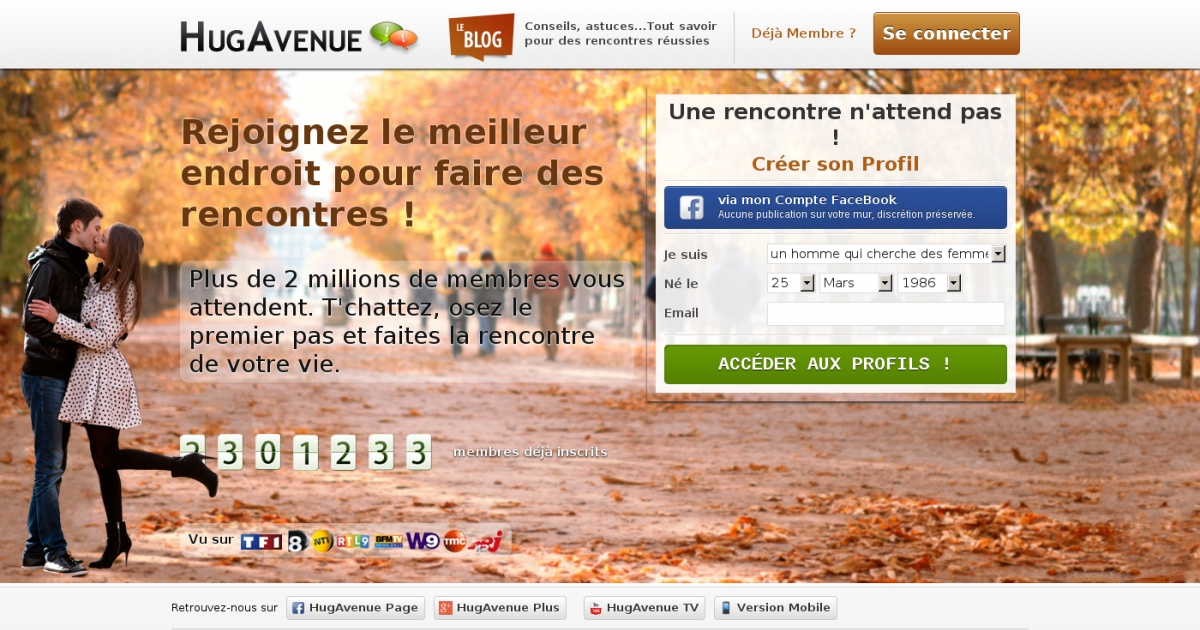 Le marche des sites de rencontre