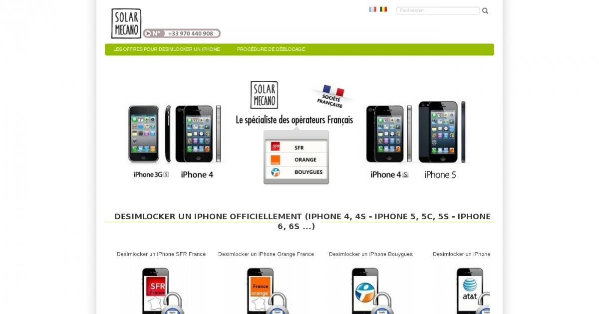 Debloquer Un Iphone 5s Orange