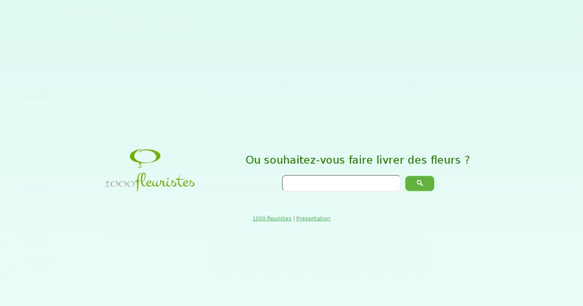 1000fleuristes site de vente de fleurs en ligne for Vente de fleurs en ligne