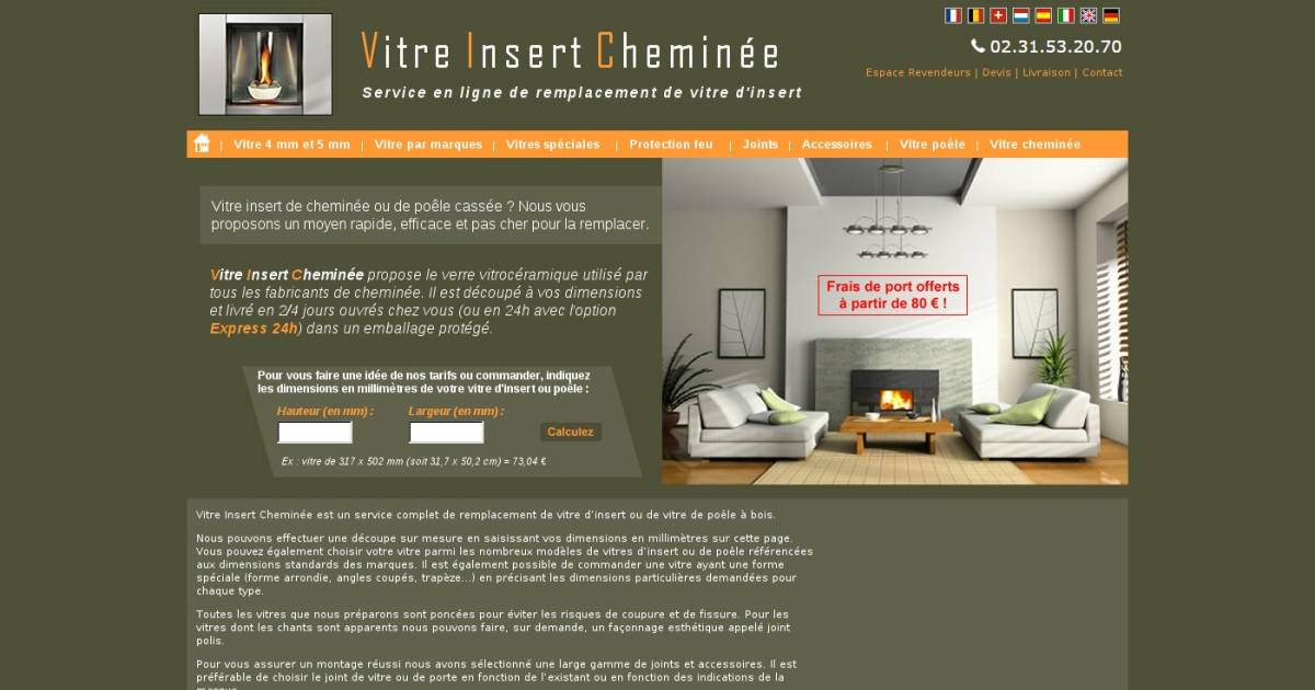 vitre insert adresse et avis sur le bottin. Black Bedroom Furniture Sets. Home Design Ideas