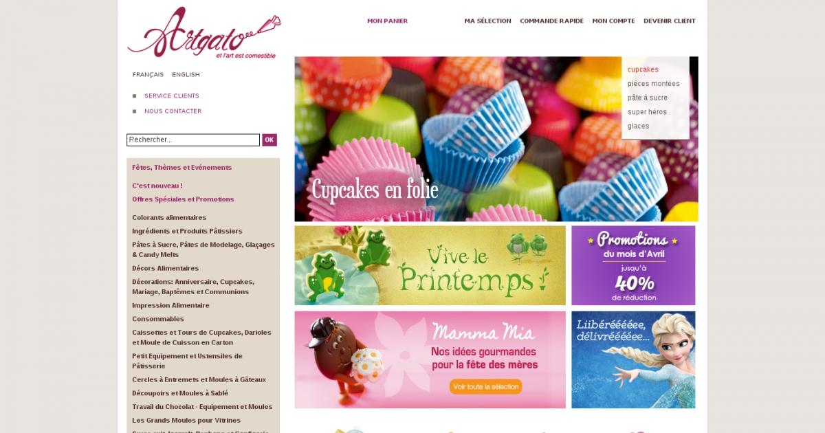 Artgato une p te sucre unique pour les professionnels for Materiel patisserie