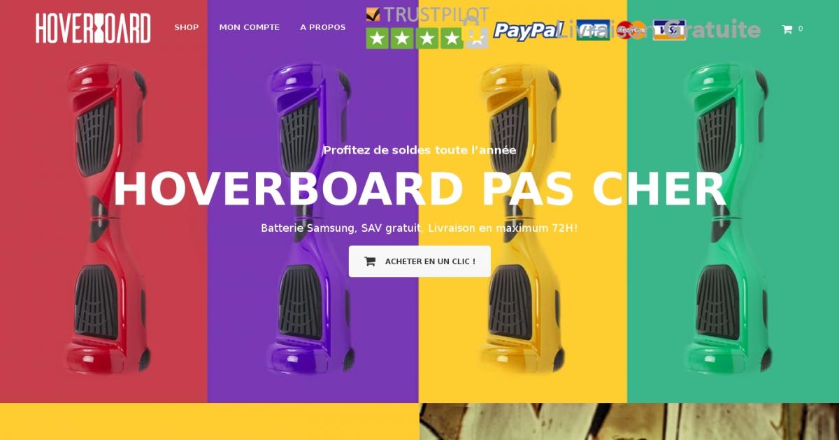 Vente en ligne d 39 hoverboard prix mini - Top des sites de vente en ligne ...