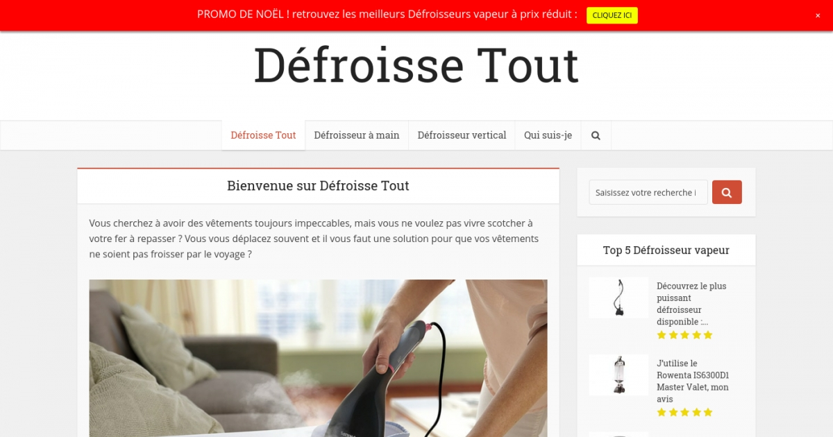 d froisse tout est le guide d 39 achat qui vous aide trouver votre d froisseur en ligne. Black Bedroom Furniture Sets. Home Design Ideas