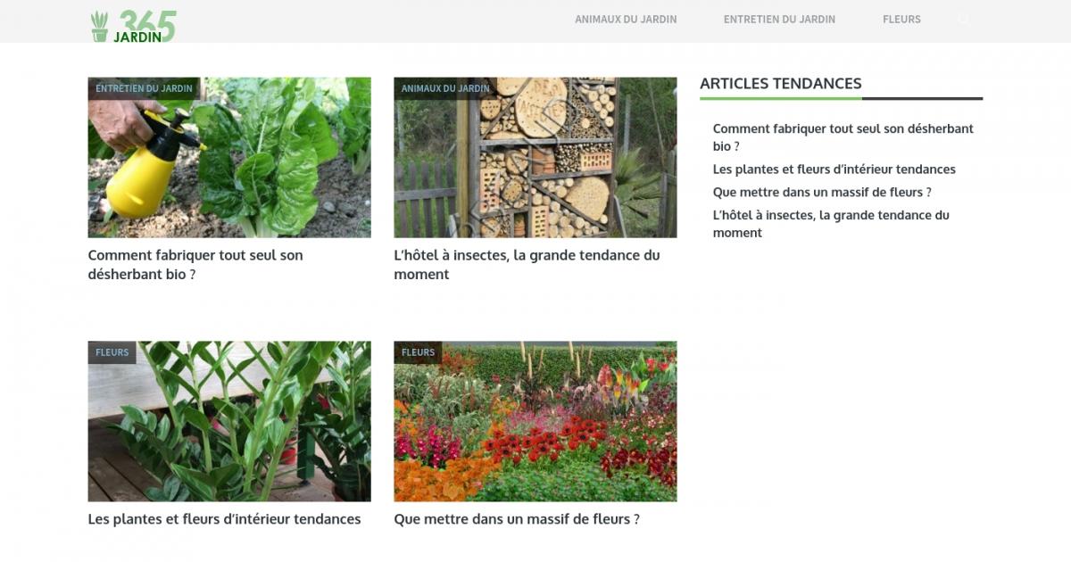 365 jardin des conseils et fiches pratiques de jardinage for Meilleur site de jardinage