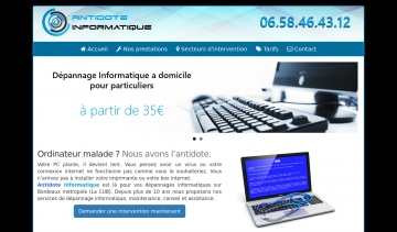 Antidote Informatique Bordeaux