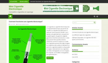 Mini Cigarette électronique, guide complet