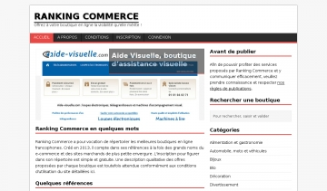 Ranking Commerce
