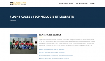 Flightcase-France, entreprise de conception et de fabrication des flightcases