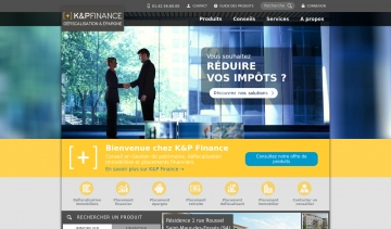 K&P Finance, défiscalisation et placements financiers