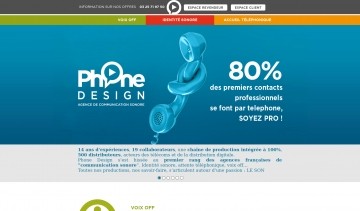 Phone design, Agence de communication sonore