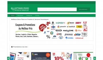 Software-Promo, le site des codes promotionnels