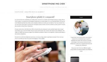 Smartphone-Pas-Cher, guide complet du smartphone