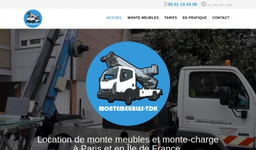 Monte-meuble-TDK : location de monte-meubles et monte-charge à Paris