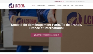 LCEDEM, le spécialiste du déménagement national et international