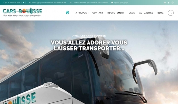 Cars Bouisse, service de transport