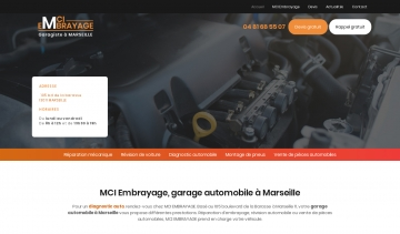 MCI Embrayage, garage automobile à Marseille