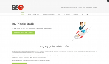 SEO and website traffic London - SEO25.com