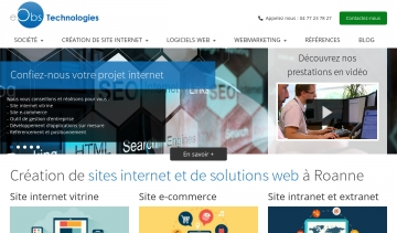 Création de sites internet à Roanne