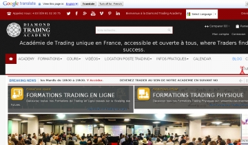 Diamond Trading Academy - Formation Bourse et Formation Trading