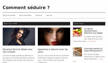 Comment-seduire.fr : blog séduction