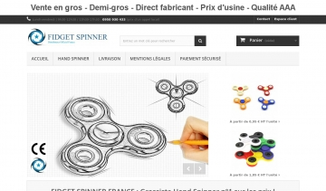 FIDGET SPINNER FRANCE - Grossiste Hand Spinner