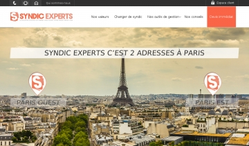 Aperçu du site Syndic Experts