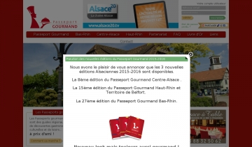 passeport gourmand reduction restaurant en alsace
