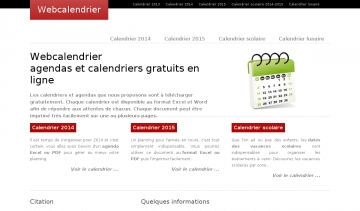 webcalendrier