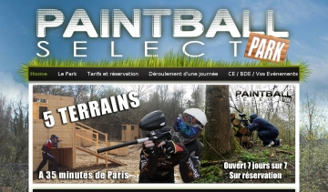 Terrains Paintball Select Park