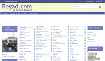 Regad.com liste de ressources web