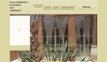 Location à Marrakech en villa privée