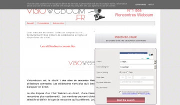 N°1 des sites de rencontre Webcam, Tchat Webcam, Chat Webcam