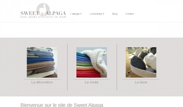 Sweet Alpaga, une collection alliant tradition et authenticité