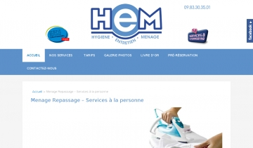 HEM Multiservices Menage Repassage Marseille
