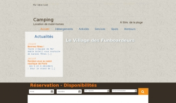 Camping Port leucate, camping vacances Mer-sable-soleil
