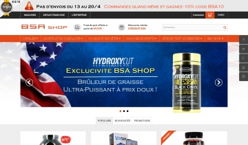 bsa-shop boutique de musculation
