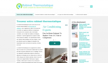 Robinet thermostatique, guide d'achat des robinets thermostatiques