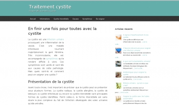 Traitement Cystite, guide d'informations sur la cystite