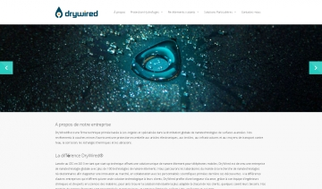 DryWired, leader de la conception de revêtements hydrophobes