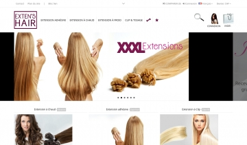 Extensions de cheveux Paris