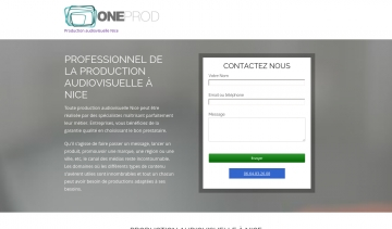ONEProd, production audiovisuelle au sud de la France