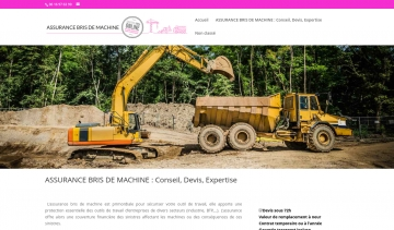 Bris de machine assurance, informations et services de courtage