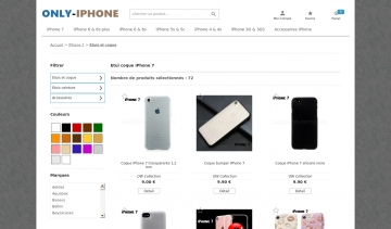 Coque-phone7.com, une belle boutique pour habiller son iPhone