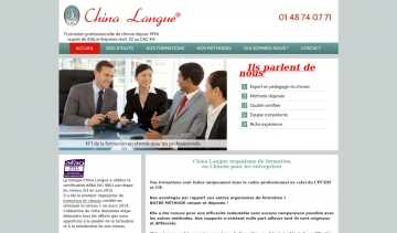 China Langue, formation en chinois professionnel