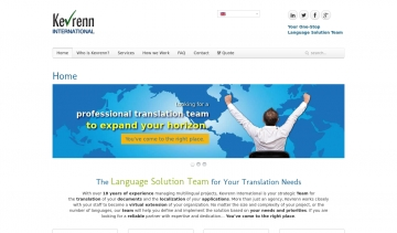 K.International, agence de traduction multilingue
