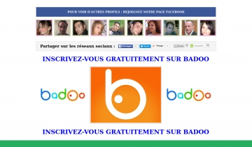 Badoo : inscription gratuite